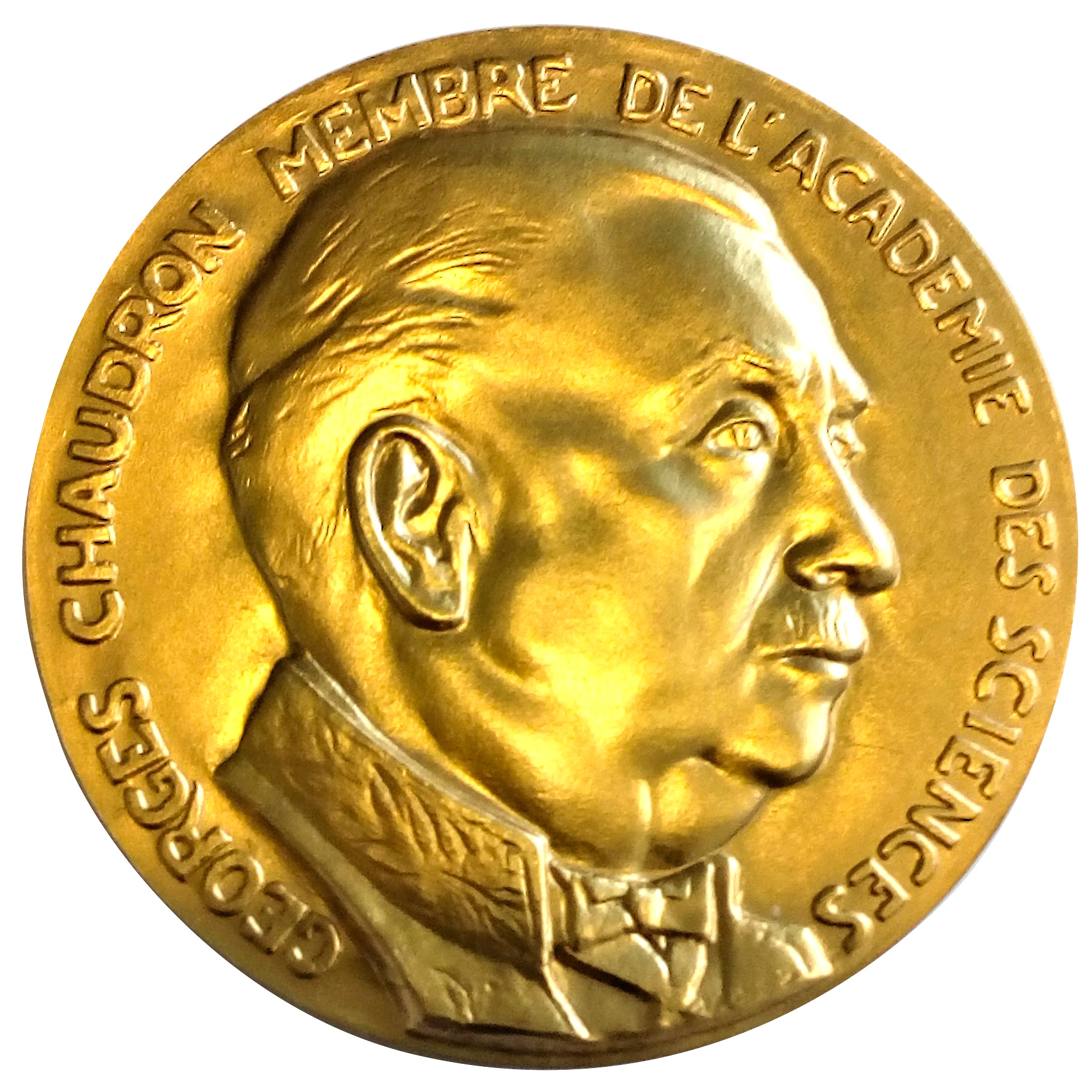 MEDAILLE GEORGES CHAUDRON