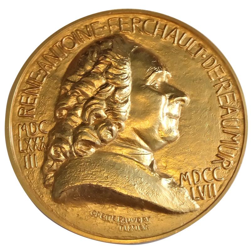 Medaille Réaumur