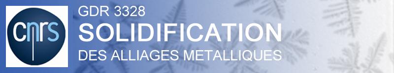 Solidification : Fondamentaux et Applications Métallurgiques